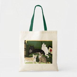 The Four Little Mountain Lions bag