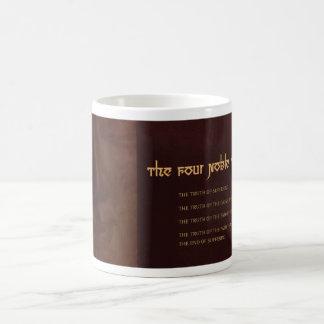 The Four Noble Truths of Buddhism, mug