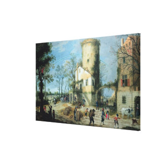 The Four Seasons: Autumn Gallery Wrap Canvas