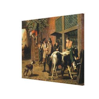 The Four Seasons, Autumn (oil on canvas) (see 1667 Canvas Print