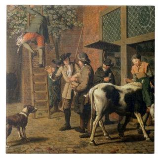 The Four Seasons, Autumn (oil on canvas) (see 1667 Tile