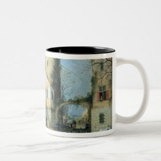 The Four Seasons: Autumn Two-Tone Coffee Mug