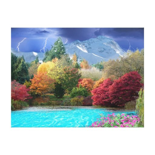 The four Seasons Gallery Wrapped Canvas