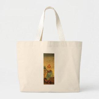 The Four Seasons, Summer by Paul Cezanne Jumbo Tote Bag