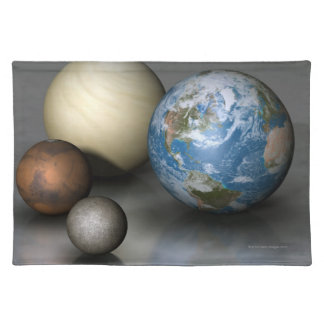 The Four Terrestrial Planets Placemat