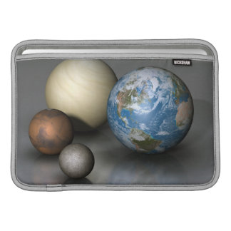 The Four Terrestrial Planets Sleeve For MacBook Air