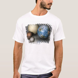The Four Terrestrial Planets T-Shirt