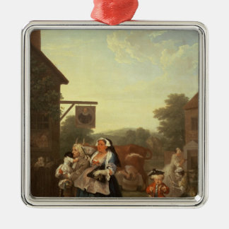 The Four Times of Day: Evening, 1736 Christmas Ornament