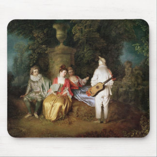 The Foursome, c.1713 Mouse Mat