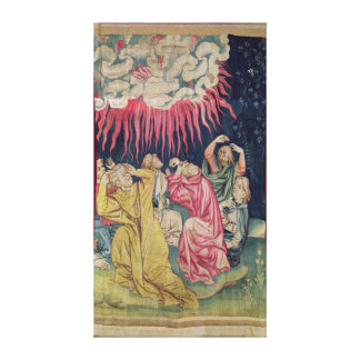 The Fourth Angel Poured out his Bowl on the Canvas Print