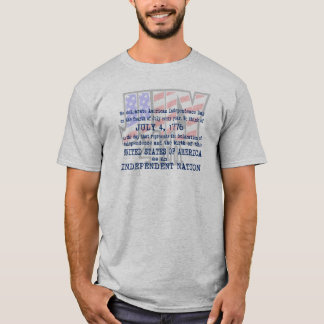 The Fourth July 4th T-Shirt