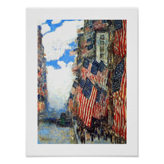 """""""The Fourth of July"""", c.1916. Fine Art Poster"""