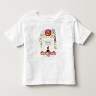 The fox and the grapes toddler T-Shirt