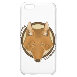 The fox is cunning... not news! Electronic Case Cover For iPhone 5C