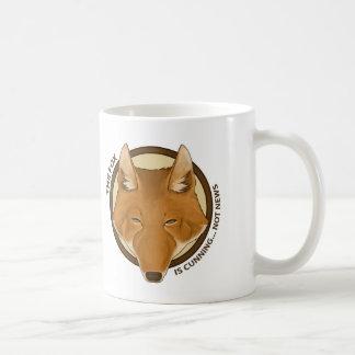 The Fox is Cunning... Not News Mug