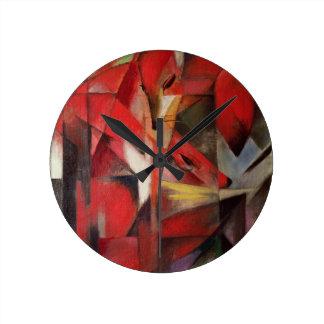 The Fox Round Clock