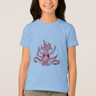 The fox with nine tails t-shirts