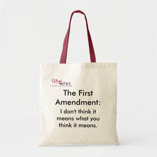 The Foxy First Amendment Bag