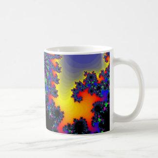 The Fractal's Edge: Classic White Coffee Mug
