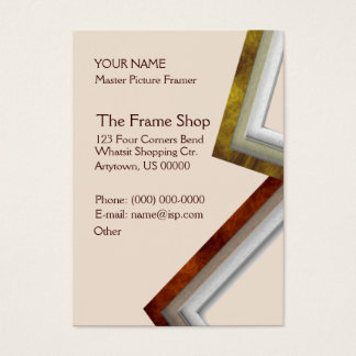 The Frame Shop Business Card