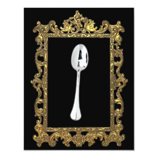 The Framed Spoon Personalized Announcements