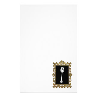 The Framed Spoon Stationery Design