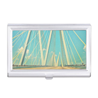 The Fred Hartman Bridge Business Card Holder
