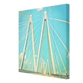 The Fred Hartman Bridge Canvas Print