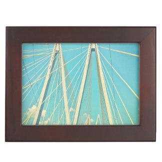 The Fred Hartman Bridge Keepsake Box