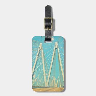 The Fred Hartman Bridge Luggage Tag