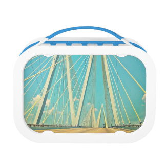 The Fred Hartman Bridge Lunch Box