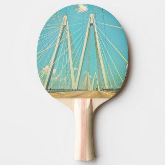 The Fred Hartman Bridge Ping Pong Paddle