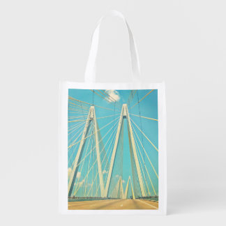 The Fred Hartman Bridge Reusable Grocery Bag