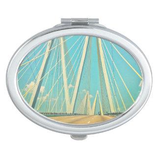 The Fred Hartman Bridge Vanity Mirror
