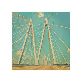 The Fred Hartman Bridge Wood Canvases