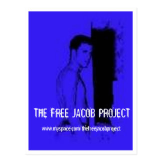 THE FREE JACOB PROJECT POSTCARD