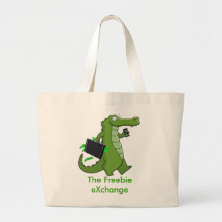 The Freebie eXchange Jumbo Tote Canvas Bags