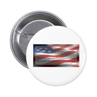 The Freedom of Speech Pinback Button