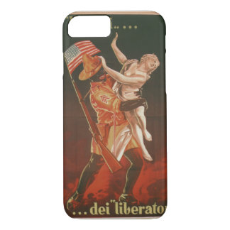 The freedom of the liberators Propaganda Poster iPhone 7 Case