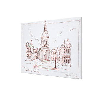 The French Academy | Paris, France Canvas Print