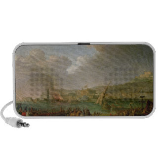 The French Army Entering Naples Notebook Speaker
