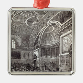 The French Chamber of Peers Christmas Ornament