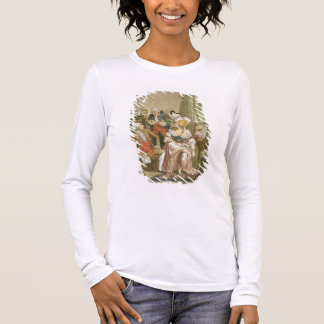 The French Dressing Room, engraved by P.W. Tomkins Long Sleeve T-Shirt