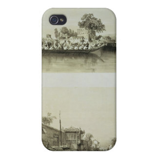 The French Folly and a Salt Merchant's House on th iPhone 4 Cover