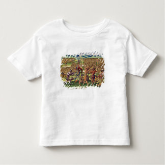The French Help the Indians in Battle Toddler T-Shirt