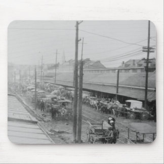 The French Quarter 1905 Mousepads