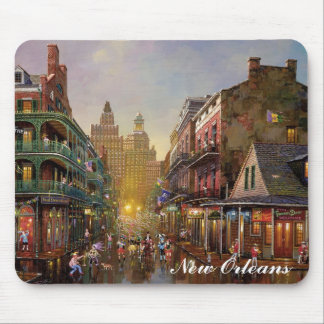 The French Quarter Mouse Mat