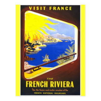 The French Riviera Post Cards