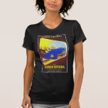 The French Riviera VIntage Travel Poster T Shirts
