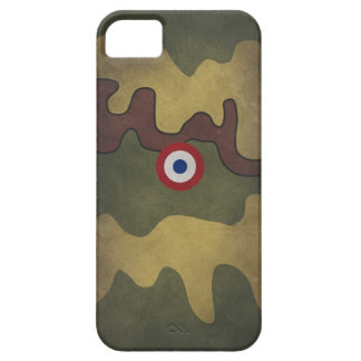 The French troop tank camouflage 02 iPhone 5 Cases